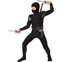 Bristol Novelty Ltd Ninja Bodysuit Barn Maskeraddräkt - Small