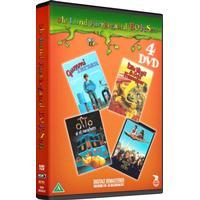 Hodja Fra Pjort // Gummi Tarzan // Otto Er Et Næsehorn // Lille Virgil Og Orla Frøsnapper - DVD - Film