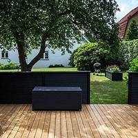 Terrassebrædder Termotræ ubehandlet 32x125 mm (28x120 mm)