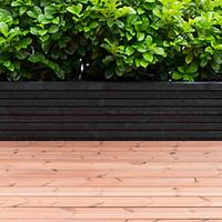 Terrassebrædder Termotræ brunlaseret 32x125 mm (28x120 mm)
