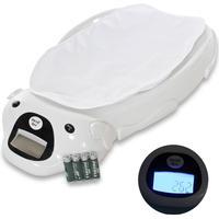 TecTake Elektrisk babyvåg med musik inklusive underlägg och batterier av TecTake