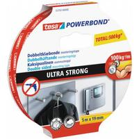 Tesa monteringstape powerbond 19mm 1,5mtr/rl 55791 dobbeltklæbende ultra strong