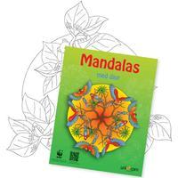 Mandalas målarbok - vilda djur WWF