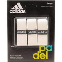 Adidas Overgrip White 3-pack