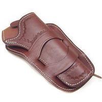 Vega Western Holster Brown Leather Cross Draw