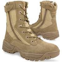 4711618e896 Mil Tec SWAT kängor 2-Side Zip - Coyotebrun (45 (12))