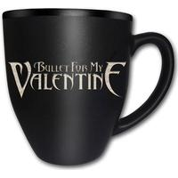Bullet For My Valentine Logo Matt Engraved Krus, Kop