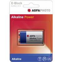 Agfa Photo batteri - 6LR61 - Alkalisk