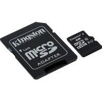 Kingston Canvas Select MicroSDHC Class 10 UHS-I U1 80/10MB/s 16GB +Adapter