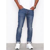Levis 501 Skinny Saint Mark Jeans Denim Blå