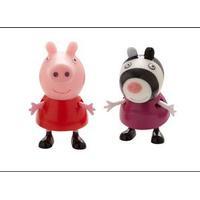 Peppa Pig GRETA GRIS figurer, Greta och Zoe