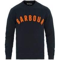Barbour Lifestyle Prep Logo Crew Neck Sweatshirt Navy
