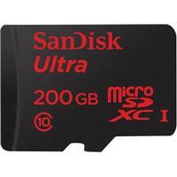 SanDisk Mobile Ultra microSDXC Class 10 UHS-I 90MB/s 200GB
