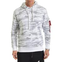 Alpha Industries X-Fit Hoody White Camo, Alpha Industries