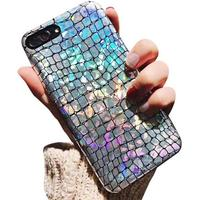 Discoloration Case Cover Crocodile pattern PU Soft Shell Phone Cases Back Covers For Women Girl For iPhone6 /6s Plus 7/7Plus/8/8plus - Iphone 6