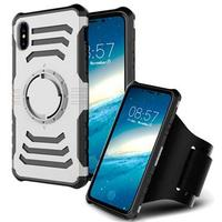 iPhone X Löstagbar Armband - Silver