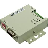 DELTACO USB till seriell, RS-422/485, DB9ha, plint, metall, opt. iso.