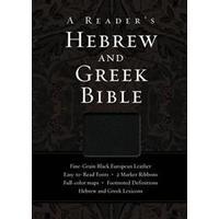 A Reader's Hebrew and Greek Bible (Pocket, 2010)