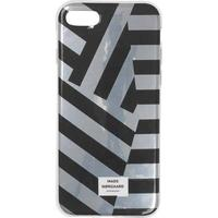 Mads Nørgaard Cover Me Armor iPhone cover - chrome/sort