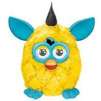 Hasbro Furby interactive Plush, Yellow/Teal