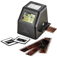 Diaskanner, Negativskanner Renkforce DS100-5M 5 MPix Digitalisering utan PC, Display, Minneskortplats, TV-utgång
