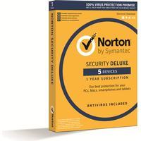 Symantec Norton Security Deluxe 3.0 (5) - Nordisk