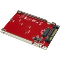 StarTech.com M.2 Drive to U.2 (SFF-8639) Host Adapter for M.2 PCIe NVMe SSDs - interfaceadapter - M.2 Card - U.2