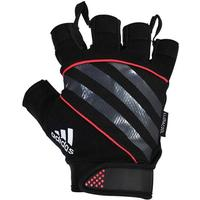 Adidas Gloves Sh. Fingered Perf. Red M