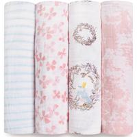 Aden + Anais Classic Swaddles Birdsong 4-pack