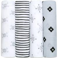Aden + Anais Classic Swaddle Lovestruck 4-pack