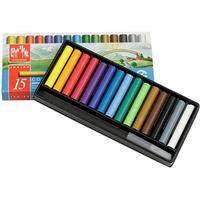 Neocolor ii akvarellkritor - mixade färger junior - 15 st