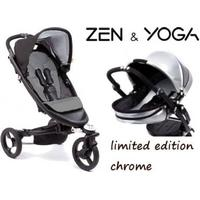 Babyzen Zen met reiswieg, Limited Edition, Chrome