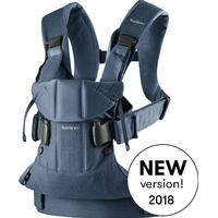 BabyBjörn Baby Carrier One Bärsele Classic denim/Midnight blue Cotton Mix 2018 One Size