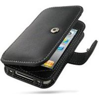 PDair iPhone 4 / 4S PDair Læder Taske 3BIPP4B41 - Sort