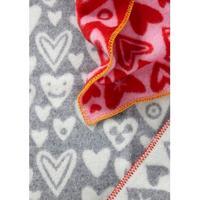 Klippan Yllefabrik Baby Heart Baby Blanket 65x90cm