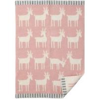 Klippan Yllefabrik Deer Baby Blanket 65x90cm