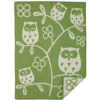 Klippan Yllefabrik Tree Owl Baby Blanket