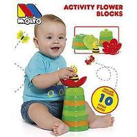 Molto Con Juego De Bloques Forma De Flor (legetøj, konstruktioner, tegn og dyr)