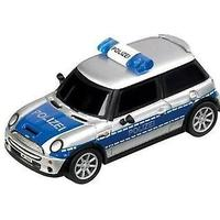 Carrera Mini Cooper Polizei (legetøj, køretøjer og spor, Mini køretøjer, biler)