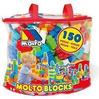 Molto taske blokke 150 Ocs (legetøj, børnehaveklasse, konstruktioner)
