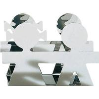 Alessi-Girotondo Brevholder, Rustfrit stål