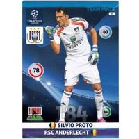 Team Mate, 2014-15 Adrenalyn Champions League, RSC Anderlecht, Silvio Proto