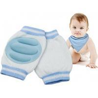 Krypmuddar, knäskydd och krypskydd för baby / bebis