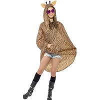 Smiffys Giraffe Party Poncho