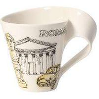 Villeroy & Boch New Wave Caffà Cities of Europe - Rome Mug with handle gift-wrapped 0,35 L