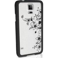 iGadgitz Samsung Galaxy S5 iGadgitz 3D Designer Collection Floral Pattern Hård