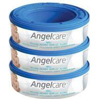 Angel Care Angelcare Nappy Disposal System 3 Refill Cassettes