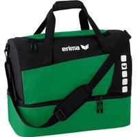 Erima Club 5 Sporttasche mit Bodenfach Größe S smaragd/schwarz