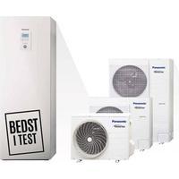 Panasonic luft vand varmepumpe All in One 3, 5 eller 7 kW 5 kWatt