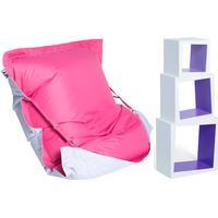 MYroom Paket Inredning, Rosa/Llila